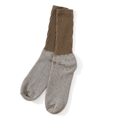 IFNi COFFEE DYE SOCKS [ COYOTE ]