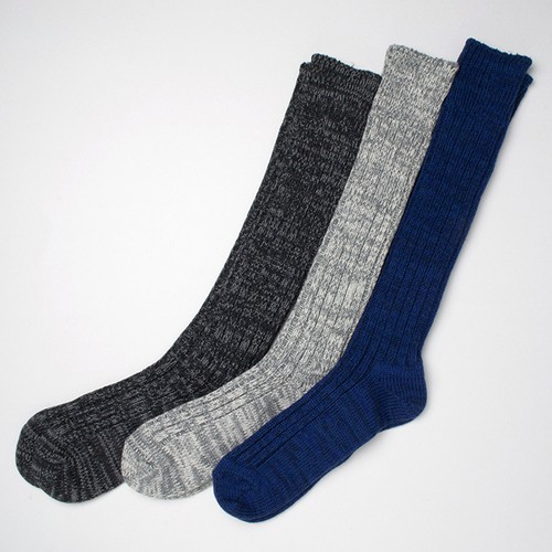 レディースソックス decka No. de - 06 HEAVY WEIGHT HIGH SOCKS