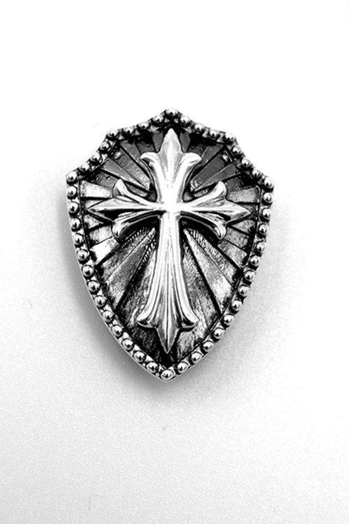 Item No.0302 :Shield-Cross Flory RHL-3