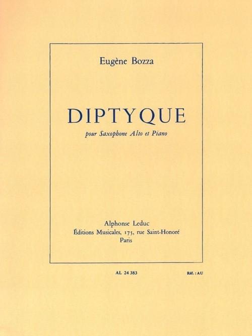 ボザ:ディプティック/アルトサクソフォーン・ピアノ