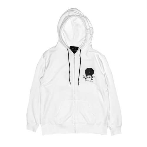 ILL IT - EAT CROW HOODIE (WHITE)