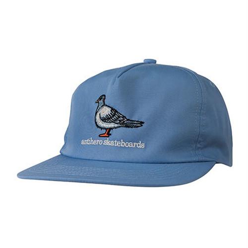 ANTIHERO Lil Pigeon Snapback Hat Light Blue