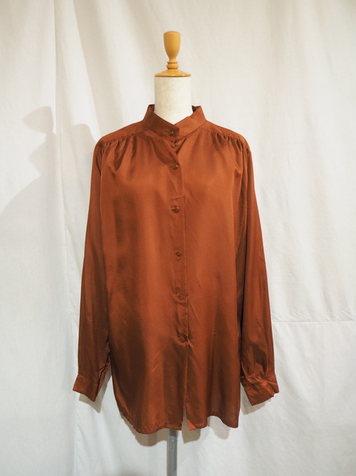 Silky Dolman Sleeve Shirts [O-423]