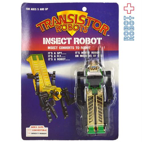 トランジスターロボット インセクト バッタ トランスフォーマー