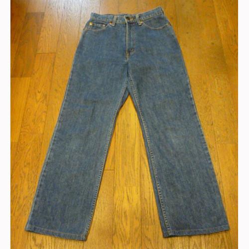 【送料無料】古着のLevi's W515-02 (30) ハイウエスト ストレートジーンズ