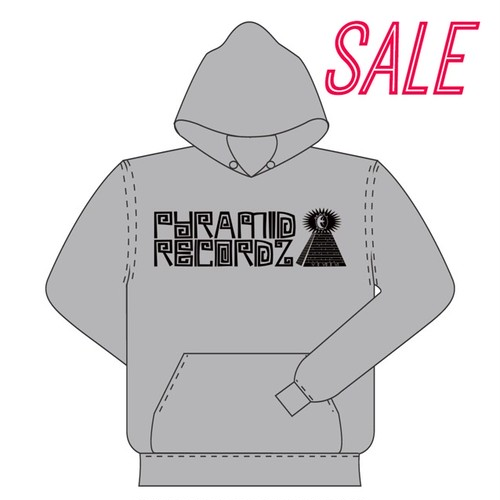 Heavy Weight Hoodie〈Heather Grey × Black〉