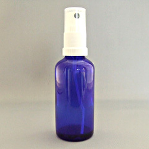 50mlブルー遮光ビン スプレー付き × 5セット(BT050-2)