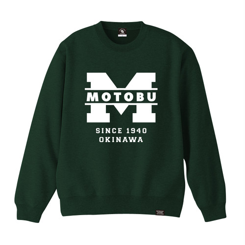 MOTOBU TOWN CREW NECK SWEAT