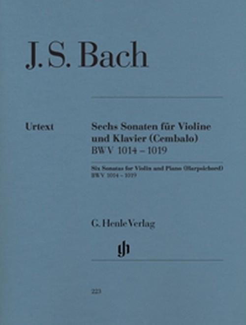 J.S.バッハ:ヴァイオリンとピアノのための6つのソナタ / ヴァイオリン・ピアノ