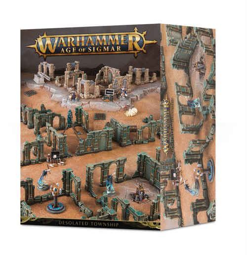 在庫限り! AGE OF SIGMAR: DESOLATED TOWNSHIP