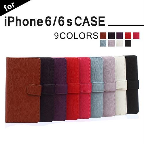手帳型 ケースiPhone6s ケース iPhone6 ケース PUレザー iPhone6 アイフォン6 ケース おしゃれ カード収納可 スマホケース アイホン6ケース