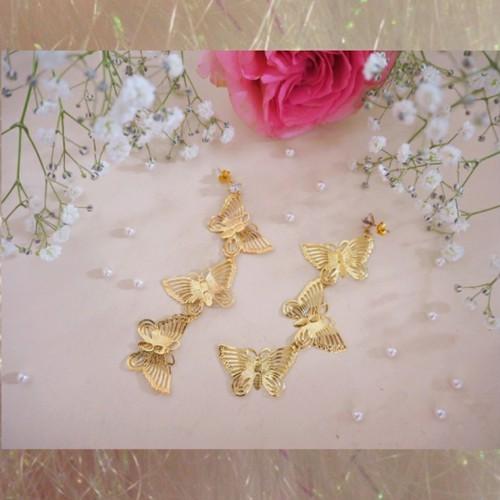 Butterfly pierce♡