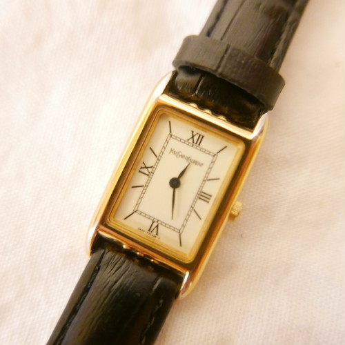 YSL Square Face Watch