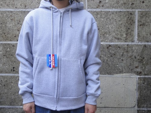 CAMBER (キャンバー) ARCTIC THERMAL ZIPPER HOODED PARKA グレー