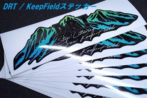 DRT / KeepFieldステッカー