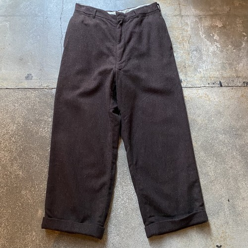 60s Wool Slacks /USA