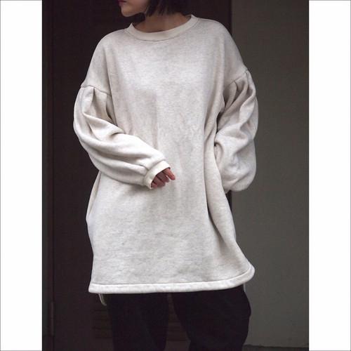 【sandglass】tuck sleeve one-piece/【サンドグラス】タック スリーブ ワンピース