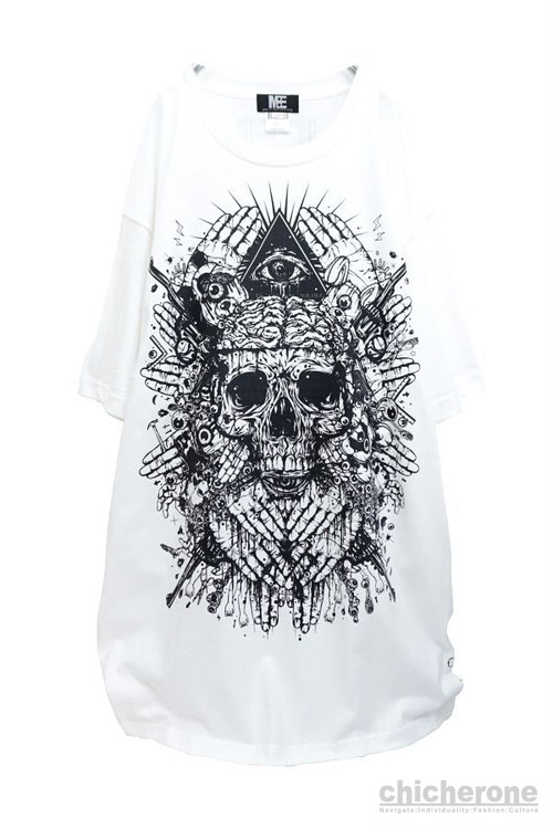 "【M:E】""brainwash""BIG-Tshirt[WHITE]"