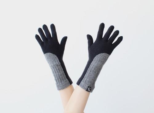 % PERCENT 手袋(FIT:ブラック・グレー)指暖・セルフヒーター・ホールガーメント・裏起毛・スマホ対応・ギフト箱付き(男女兼用フリーサイズ)