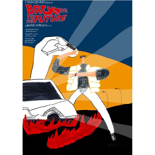 Aki Ishibashi / parody movie poster (back to the future)