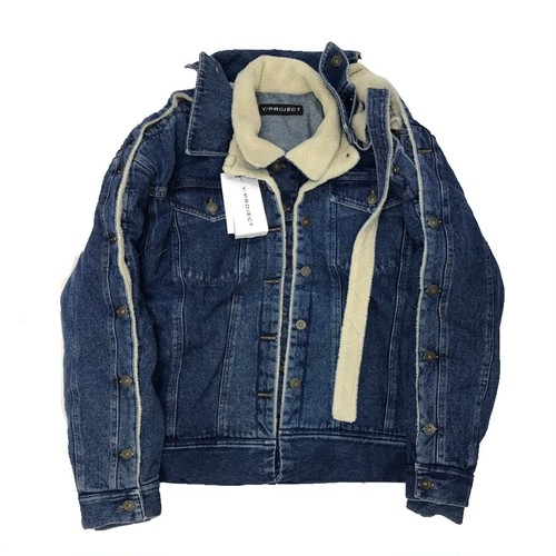 Y/PROJECT DOUBLE LAYERED JEAN JACKET