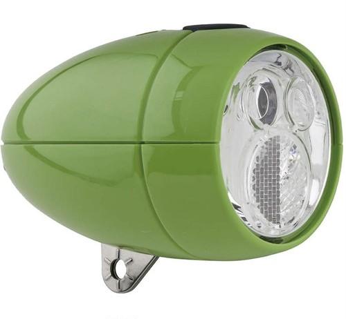 砲弾型ライト グリーン
