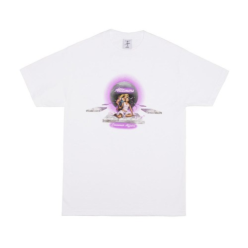 ALLTIMERS / CONSUMER AFFAIRS TEE -WHITE-