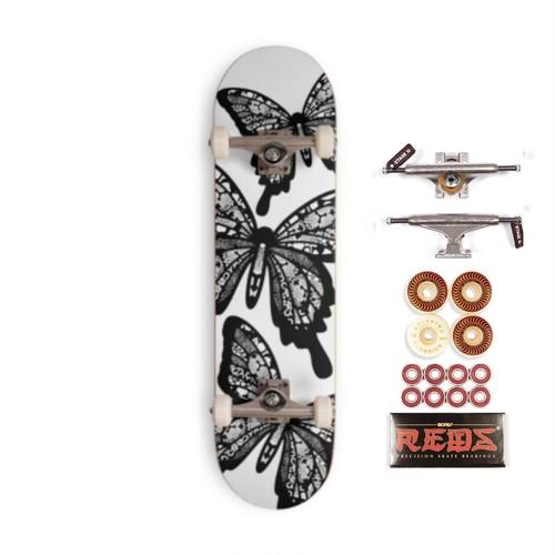 Black Butterfly スケートボードコンプリート プロ
