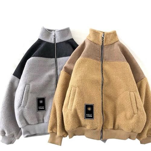 デザインボアジャケット 韓流 トレンド