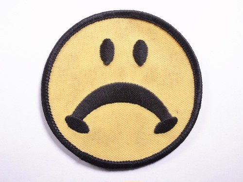 "OLD PATCH""SHOULD SMILE"""