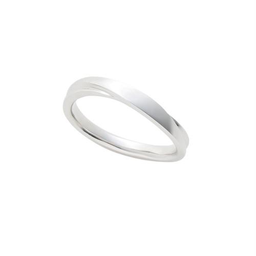 [約1ヶ月でお届け]ユニセックス 2.2 mm幅 プラチナ 結婚指輪 OCTAVE∞ (細身)Chaleur~ぬくもり~「つたえる想いと こたえる想い」