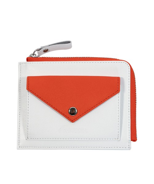 GENUINE LEATHER COLOR SMALL WALLET[REG120]