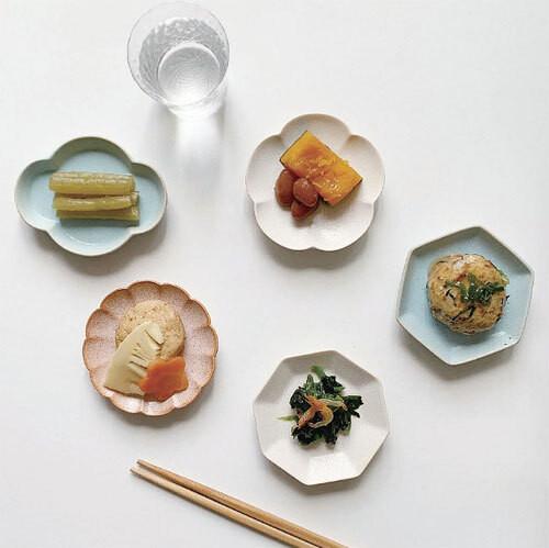 パターン豆皿