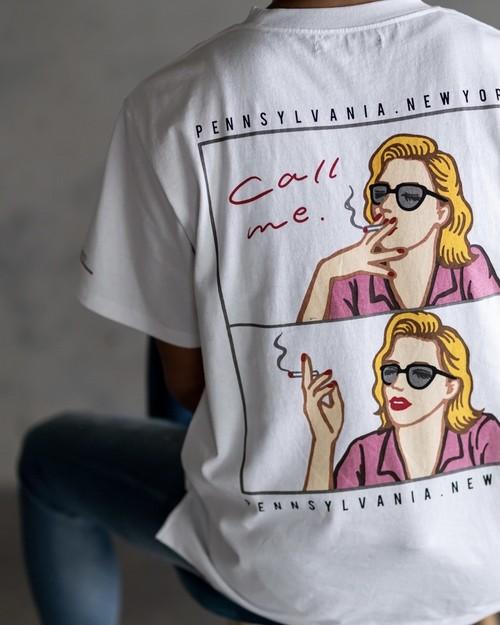 - 8ple jeans - designer's series USA cotton Tshirt[821s-1]
