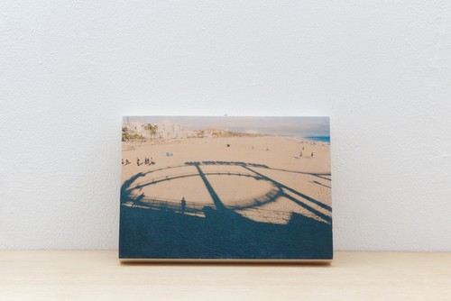 Wood Panel California #2 _ A5