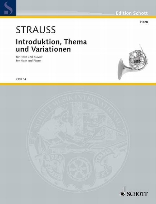 R.シュトラウス:序奏、主題と変奏/ホルン・ピアノ
