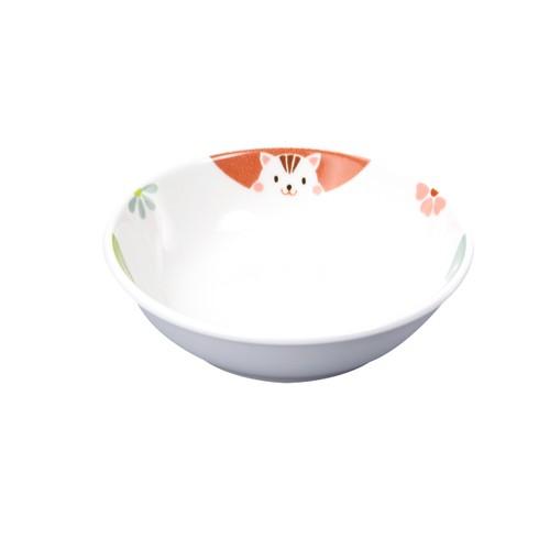 強化磁器 9.8cm小皿 かくれんぼ【1009-1370】