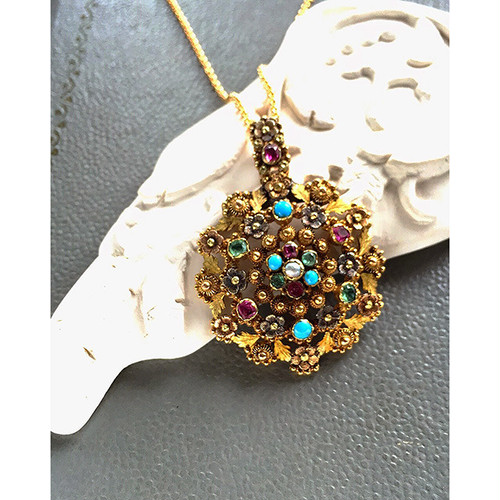 VB Original Georgian Flower Pendant