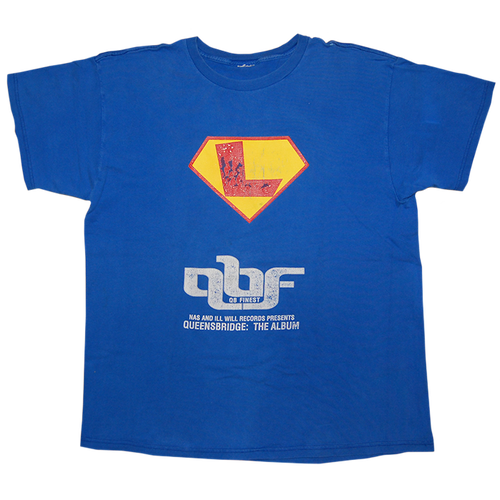 """QBs Finest"" Vintage Rap Tee Used"
