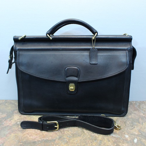 .OLD COACH TURN LOCK LEATHER 2WAY BUSINESS SHOULDER BAG MADE IN USA/オールドコーチターンロックレザー2wayビジネスショルダーバッグ 2000000032252