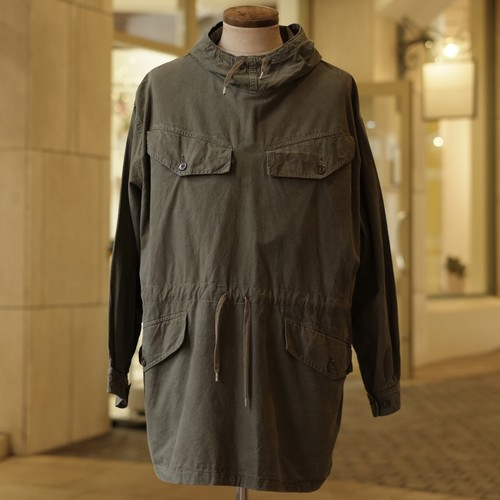 OLD FRENCH ARMY SMOCK PARKA - 2