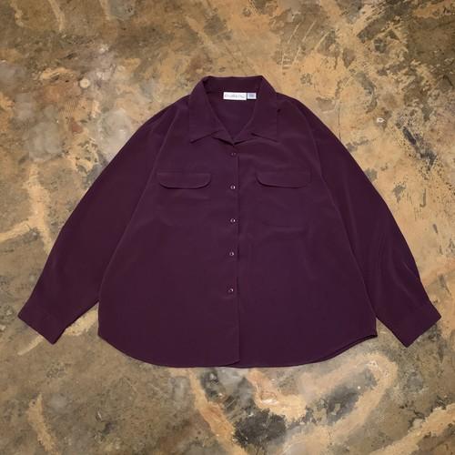00s Open collar shirt
