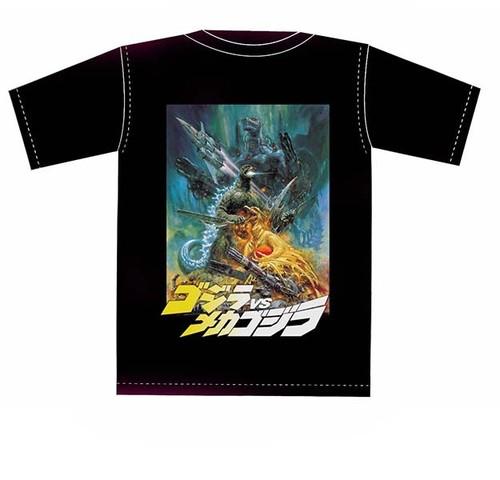 生頼範義Tシャツ「ゴジラVSメカゴジラ」