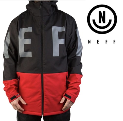 【NEFF】DAILY SOFTSHELL (RED)