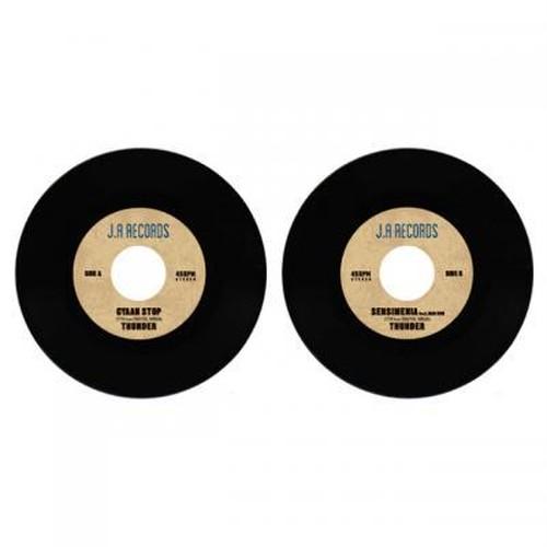 "THUNDER/CYAAN STOP / SENSIMENIA feat.MAD KOH""7インチ"""