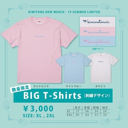 ※セール!! BIG T-Shirts (刺繍デザイン)