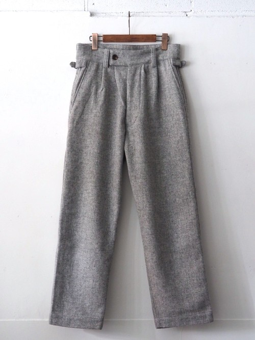 FUJITO Gurkha Pants Top Gray,Charcoal