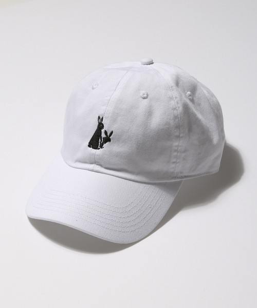 """""""FXXKING RABBITS"""" Embroidery Six Panel Cap"""