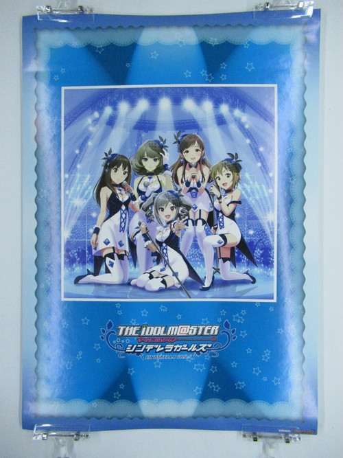 The Idolmaster Cinderella Girls GAMERS Blue - A2 size Japanese Anime Poster
