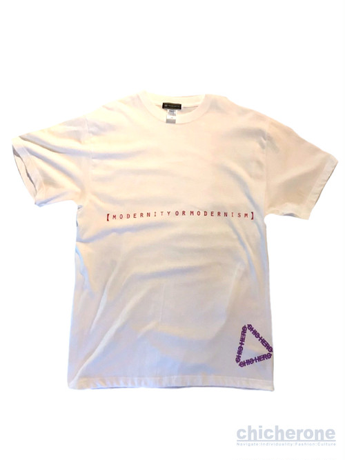 【CHIC HERO】Hit or Piss BiG T/S WHITE